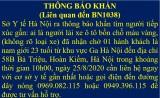 Thông báo khẩn tìm tài xế đã đón ca dương tính Covid-19 ở Ga Hà Nội