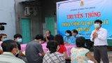 Liên đoàn Lao động tỉnh Long An tuyên truyền phòng, chống tác hại của thuốc lá