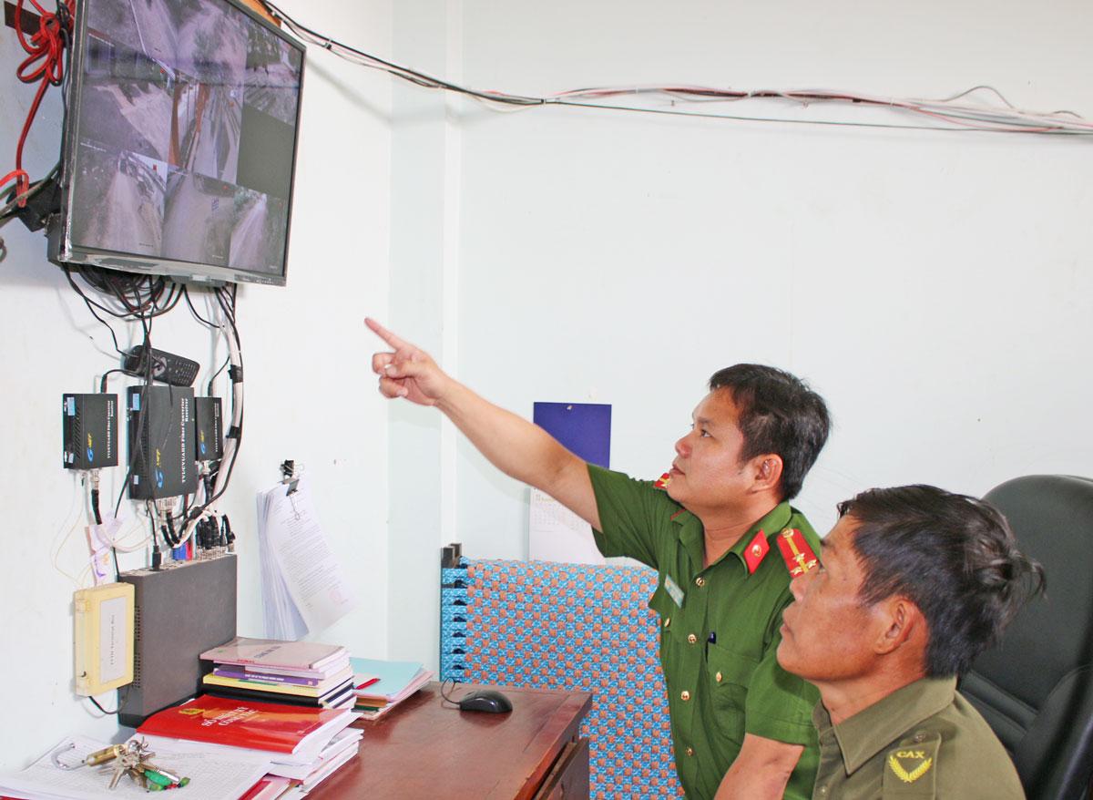 Mô hình Camera giám sát an ninh, trật tự phát huy hiệu quả