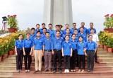 Gần 30 Đoàn viên, thanh niên tham gia dọn dẹp vệ sinh Nghĩa trang Liệt sĩ tỉnh