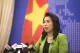 Phản ứng của Việt Nam trước việc Trung Quốc tập trận bắn tên lửa ở Biển Đông