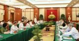 Bộ Chính trị làm việc với 37 tỉnh, thành về chuẩn bị Đại hội Đảng bộ