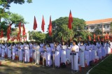 Phó Bí thư Thường trực Tỉnh ủy Long An - Nguyễn Văn Được dự khai giảng Trường THPT Nguyễn Hữu Thọ