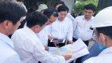 Phó Bí thư Thường trực Tỉnh ủy Long An - Nguyễn Văn Được khảo sát thực tế hướng tuyến đường  830E và 830B