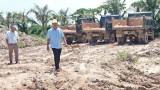 Tân Hưng kiên quyết xử lý nghiêm tình trạng khai thác đất trái phép