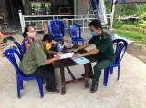 Đồn Biên phòng Sông Trăng: Tăng cường công tác phòng, chống dịch bệnh Covid-19
