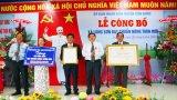 Long Sơn đón nhận quyết định công nhận xã Nông thôn mới