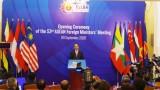 Khai mạc Hội nghị Bộ trưởng Ngoại giao ASEAN lần thứ 53