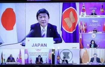 AMM 53: Nhật Bản cam kết chi 1 triệu USD hỗ trợ ASEAN chống dịch