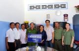 Công an TP.Tân An trao nhà đồng đội tại huyện Tân Thạnh
