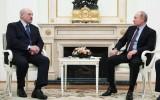 Tổng thống Lukashenko thăm Nga và hội đàm kín với Tổng thống Putin