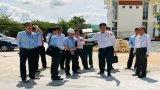 Phó Chủ tịch UBND tỉnh Long An – Phạm Văn Cảnh kiểm tra tiến độ thực hiện công trình, thiết bị trường học
