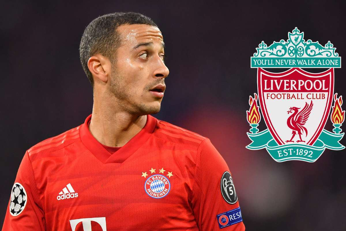 Thiago sắp đầu quân Liverpool