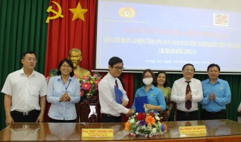Program coordinating to construct union shelters signed