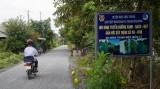 Thanh Vĩnh Đông: Chú trọng công tác bảo đảm trật tự, an toàn giao thông