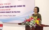 Bình đẳng giới trong chính trị: Chỉ tiêu về lãnh đạo nữ phải toàn diện