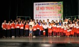 Long An tổ chức Lễ hội Trung thu và tặng quà cho trẻ em có hoàn cảnh đặc biệt khó khăn