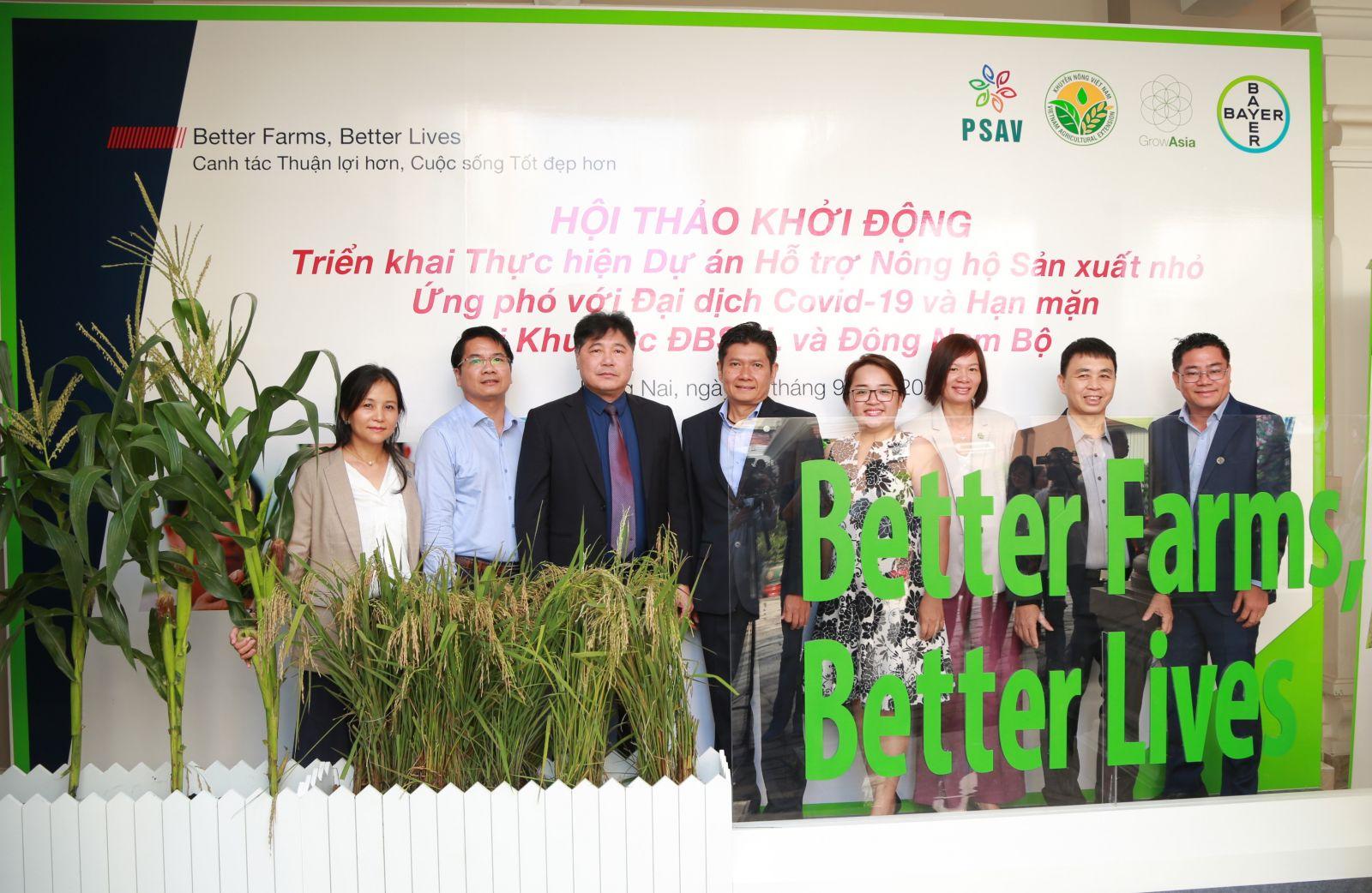 """Đại diện ban dự án """"Better Farms, Better Lives"""