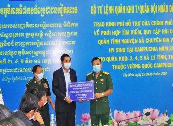 Campuchia quyết tâm hỗ trợ Việt Nam tìm kiếm, quy tập hài cốt liệt sĩ