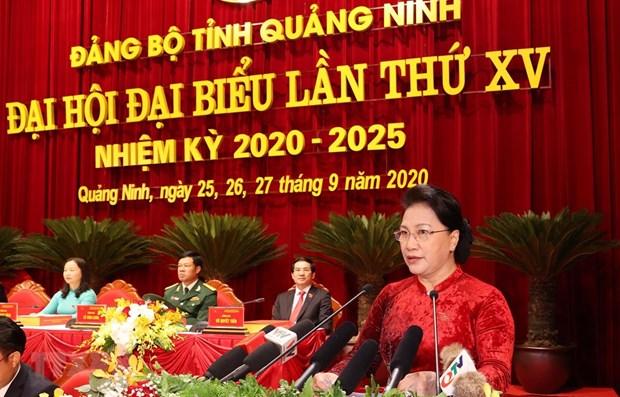 Politburo member and National Assembly Chairwoman Nguyen Thi Kim Ngan (Source: VNA)