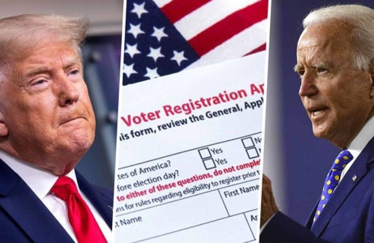 Hai ứng viên tranh cử Tổng thống Mỹ - Trump và Biden. (Ảnh: AP)