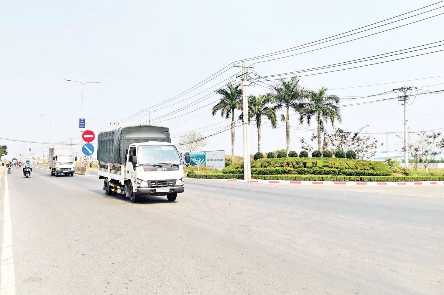 Provincial Road (PR) 830, a session through Ben Luc district
