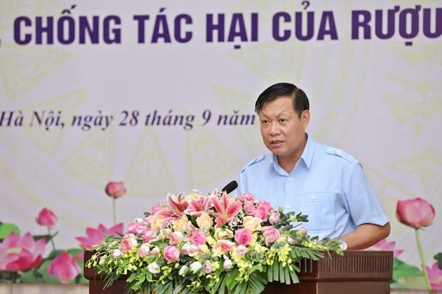 Deputy Minister of Health Do Xuan Tuyen speaks at the ministry's meeting in Hanoi on September 28 (Photo: VNA)