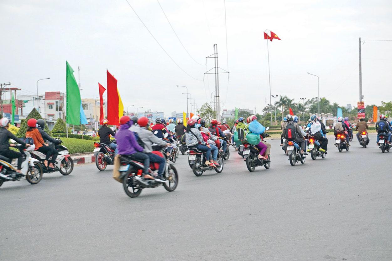 Hạn chế ùn tắc giao thông tạo điều kiện cho giao thông thông suốt, an toàn