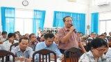 Bí thư Thành uỷ Tân An đối thoại nhân dân về quản lý, quy hoạch đô thị