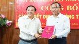 Ông Trần Bá Phước làm Phó Giám đốc Ban Quản lý dự án đầu tư xây dựng các công trình dân dụng và công nghiệp tỉnh Long An