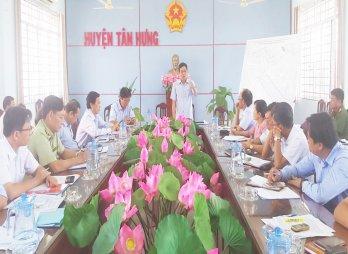 Khảo sát phòng, chống buôn lậu, gian lận thương mại ở Tân Hưng
