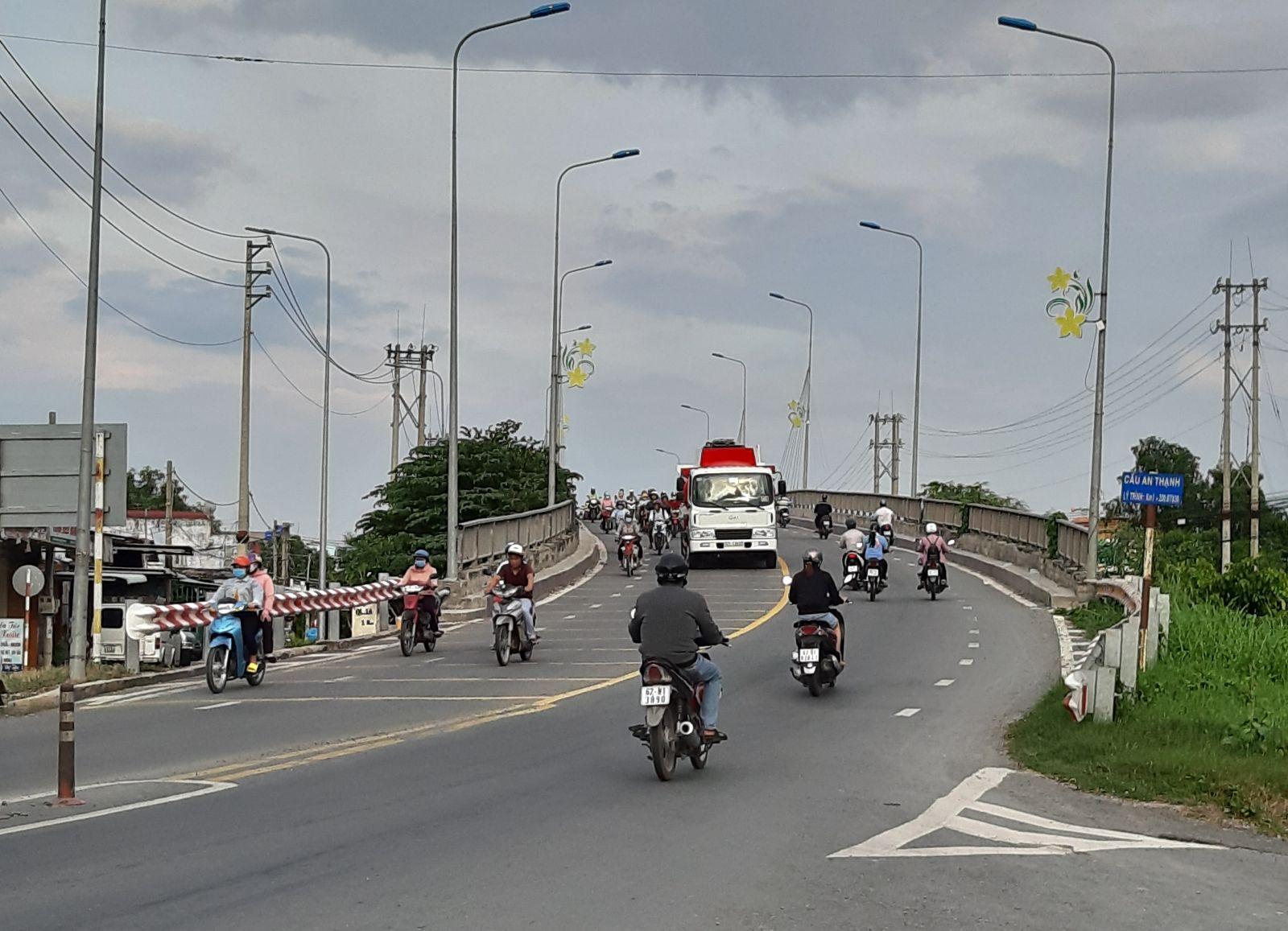 Đường tỉnh 830 cơ bản đáp ứng nhu cầu vận chuyển hàng hóa, phục vụ phát triển kinh tế của tỉnh Long An