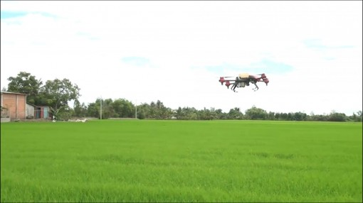 Technology applied into farming fields