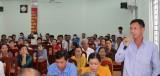 Đại biểu Quốc hội tiếp xúc cử tri huyện Tân Thạnh