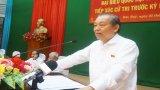 Phó Thủ tướng Thường trực Chính phủ - Trương Hòa Bình tiếp xúc cử tri tại huyện Đức Huệ
