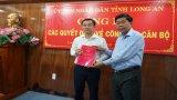 Ông Nguyễn Minh Hùng được bổ nhiệm Giám đốc Sở Xây dựng Long An