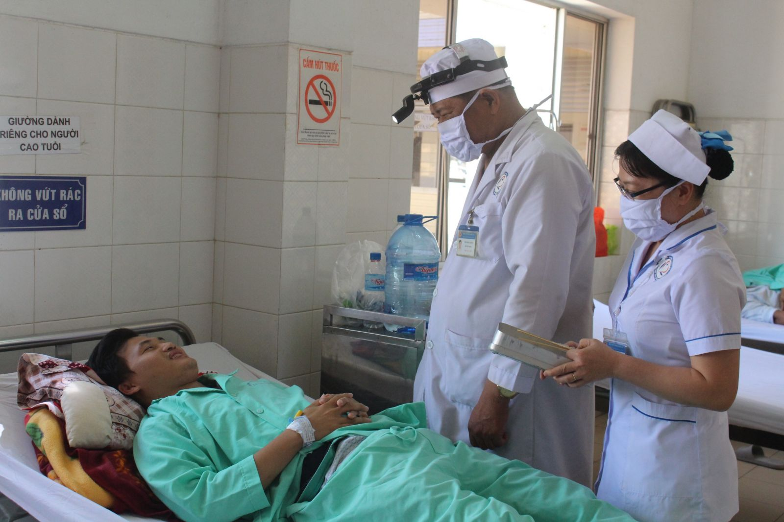 Bệnh viện tuyến trên hỗ trợ kỹ thuật và đào tạo nguồn nhân lực cho bác sĩ tỉnh Long An