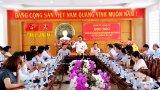 Họp báo thông tin Đại hội Đại biểu Đảng bộ tỉnh Long An lần thứ XI, nhiệm kỳ 2020-2025