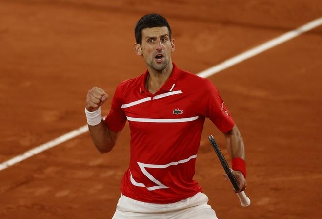 Djokovic lần thứ 5 vào chung kết Roland Garros
