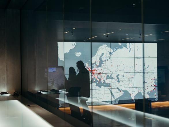 Trụ sở đơn vị chống tội phạm mạng của hãng công nghệ Microsoft tại Redmond, bang Washington - Ảnh: NYT
