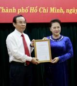 Ông Nguyễn Văn Nên được Bộ Chính trị giới thiệu làm Bí thư Thành uỷ TPHCM