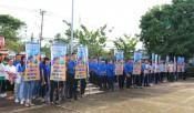 Gần 200 đoàn viên thanh niên, học sinh ra quân Ngày Chủ nhật xanh lần 4