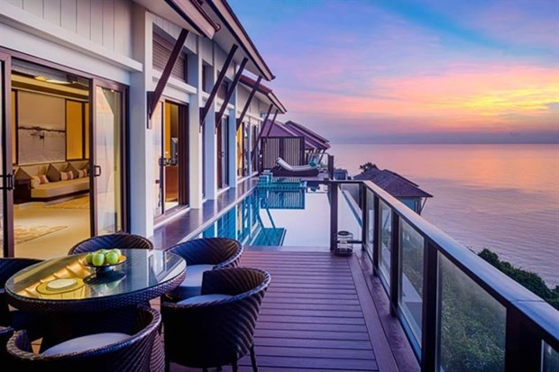 Banyan Tree Lang Co, a multi-award-winning all-pool villa resort, was the second-highest placed Vietnamese resort on the list, coming in at 9 and scoring 99.28.