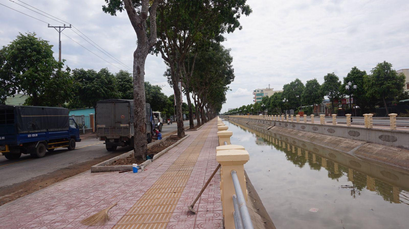 Đường Huỳnh Hữu Thống, phường 3 - tuyến đường bảo đảm trật tự, an toàn giao thông và văn minh đô thị