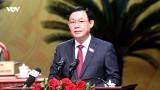 Khai mạc trọng thể Đại hội đại biểu Đảng bộ Thành phố Hà Nội