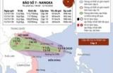 Thông tin về cơn bão số 7 - Nangka trên Biển Đông