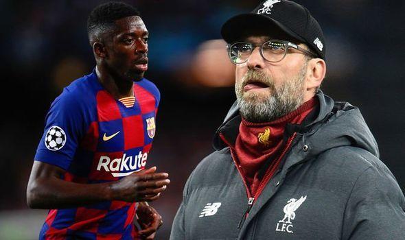 Klopp muốn mượn Dembele từ Barca