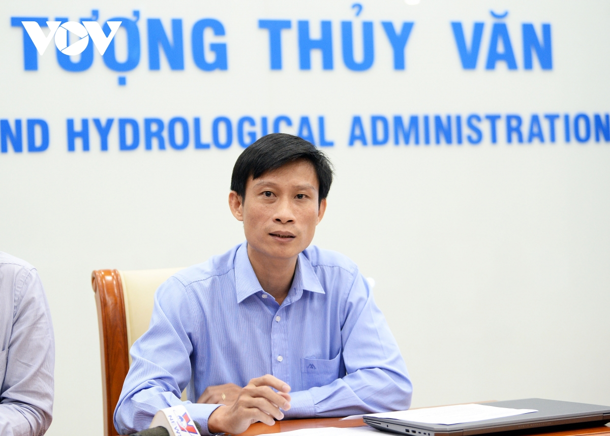 Ông Vũ Đức Long - Phó Giám đốc Trung tâm KTTV Quốc gia.