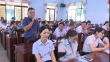 Bí thư Huyện ủy Đức Hòa: Đối thoại với hơn 60 công nhân, lao động