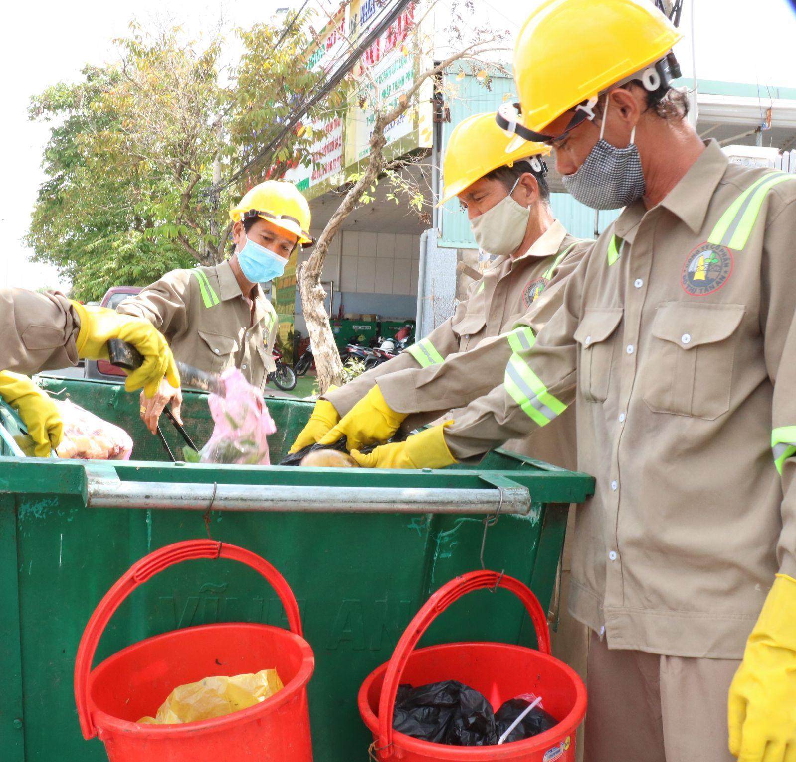 Mô hình phân loại rác tại nguồn bước đầu đạt hiệu quả đề ra